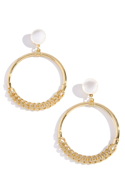 Inner Circle Earring - Gold