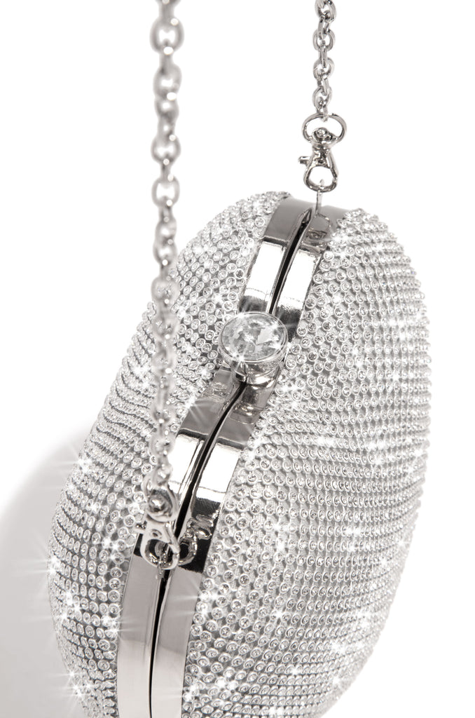 Forbidden Love Bag - Silver