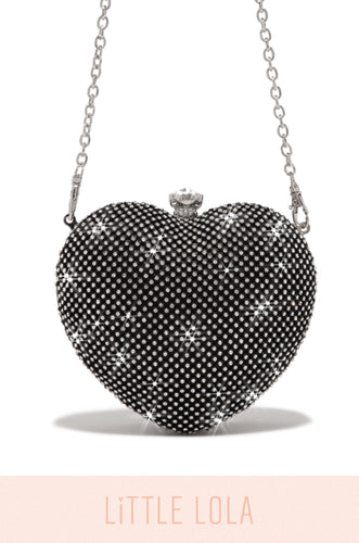 Mini Forbidden Love Bag - Black