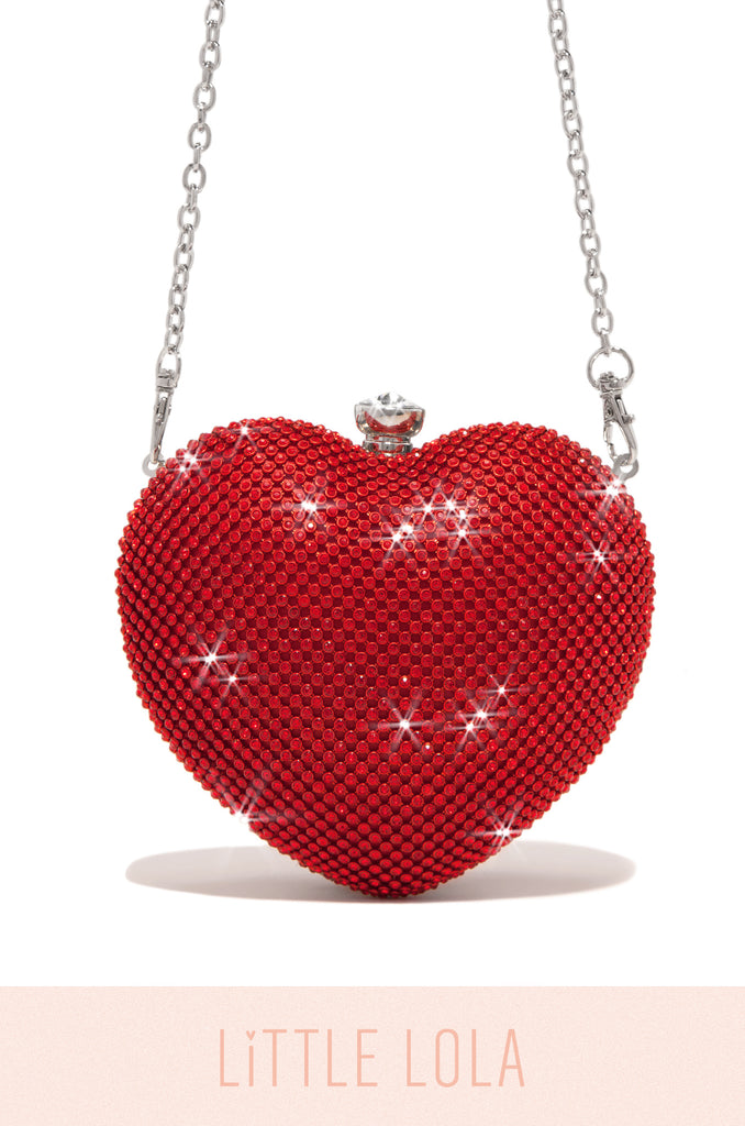Mini Forbidden Love Bag - Red