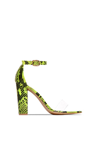 Top Choice - Neon Lime Snake