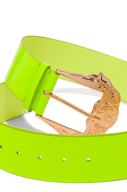 Aliyah Belt - Neon Lime