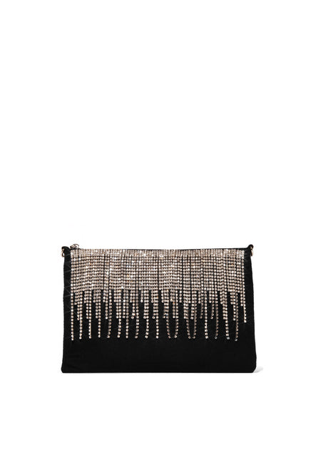 Poppin Bottles Clutch - Black
