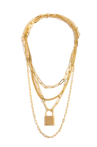 My Favorite Necklace Set - Gold