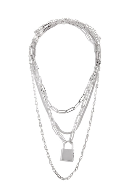 My Favorite Necklace Set - Silver
