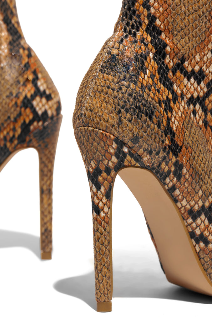 Fierce Flirt - Brown Snake