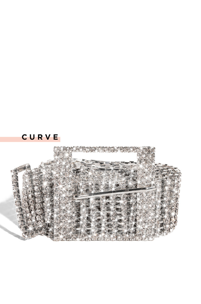 Can't Afford Me Belt - Silver