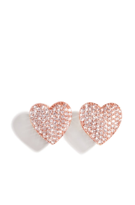 My Heart Earring - Rose Gold