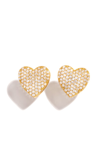 My Heart Earring - Gold