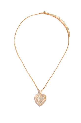 My Heart Necklace - Gold