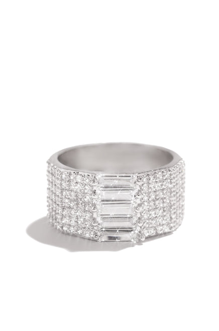 Claudette Ring - Silver
