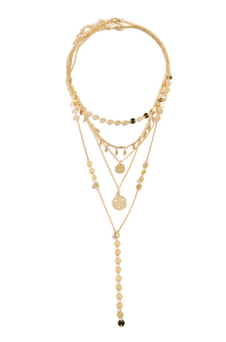 Siana Necklace Set - Gold