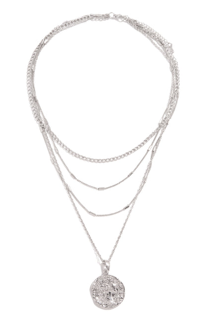 Lisette Necklace - Silver