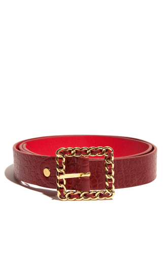 Crown Me Belt - Red