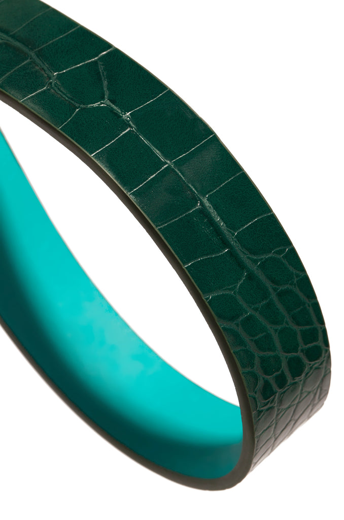 Crown Me Belt - Emerald