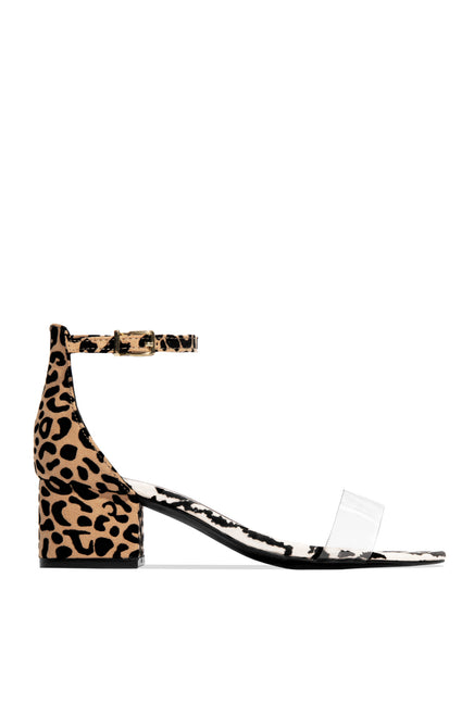 Forever Chic Mid Heel - Leopard