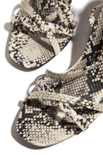 Total Doll Mid Heel - Snake