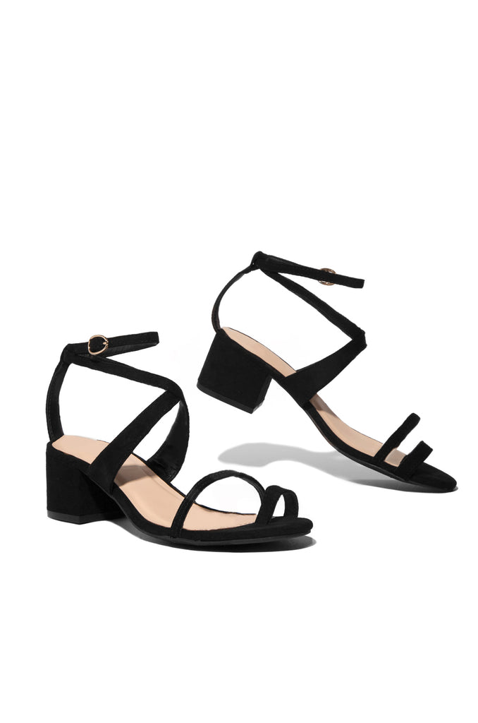 You're The One Mid Heel - Black