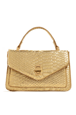 Social Muse Bag - Gold