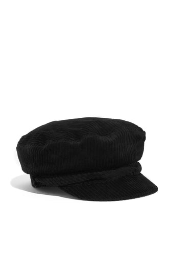 Downtown Soho Cabbie Hat - Black