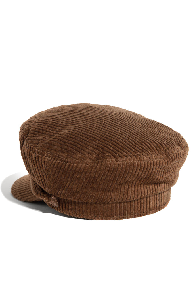 Downtown Soho Cabbie Hat - Tan