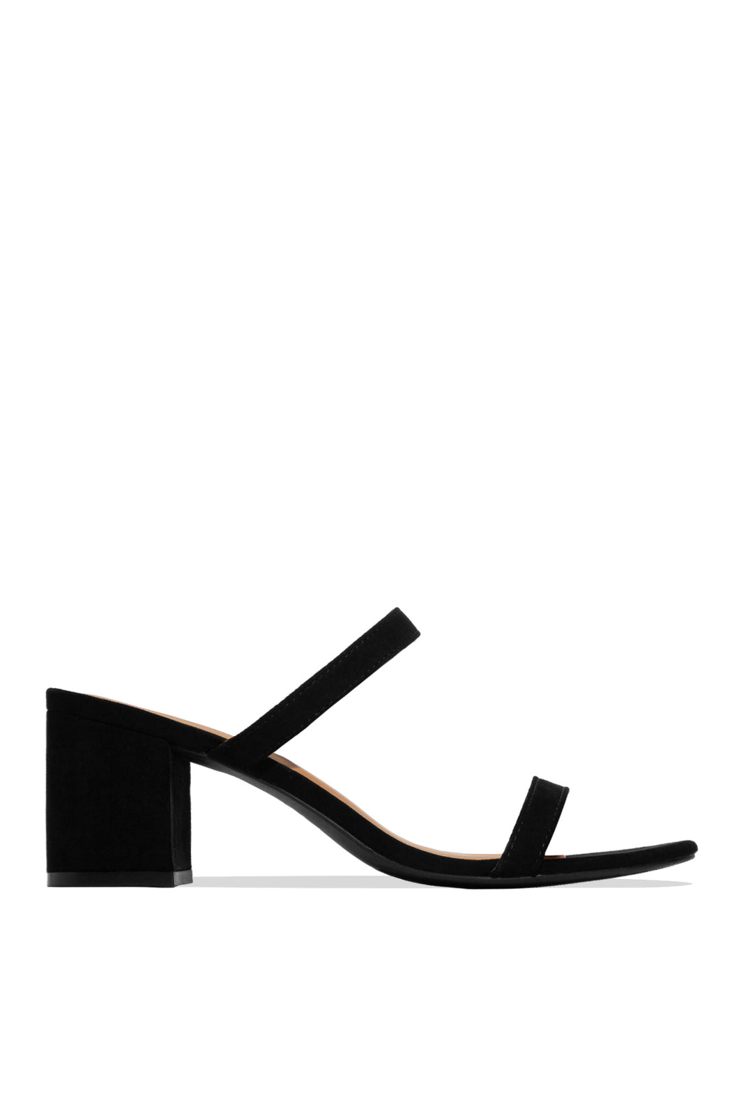 City Chic Mid Heel - Black
