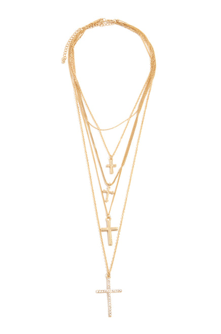 Inner Peace Necklace - Gold