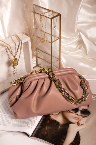 Italian Nights Bag - Dark Nude