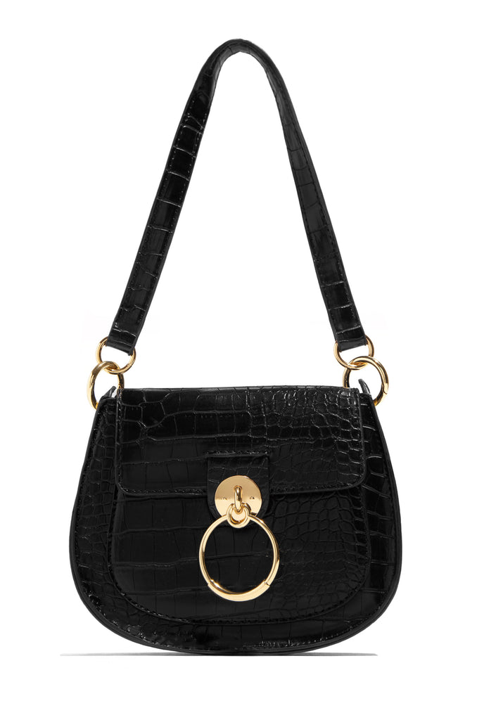 Stand Out In Fashion Bag - Black
