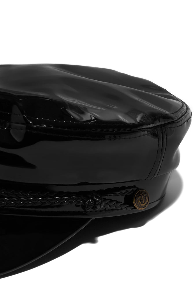 Paris Cabbie Hat - Black