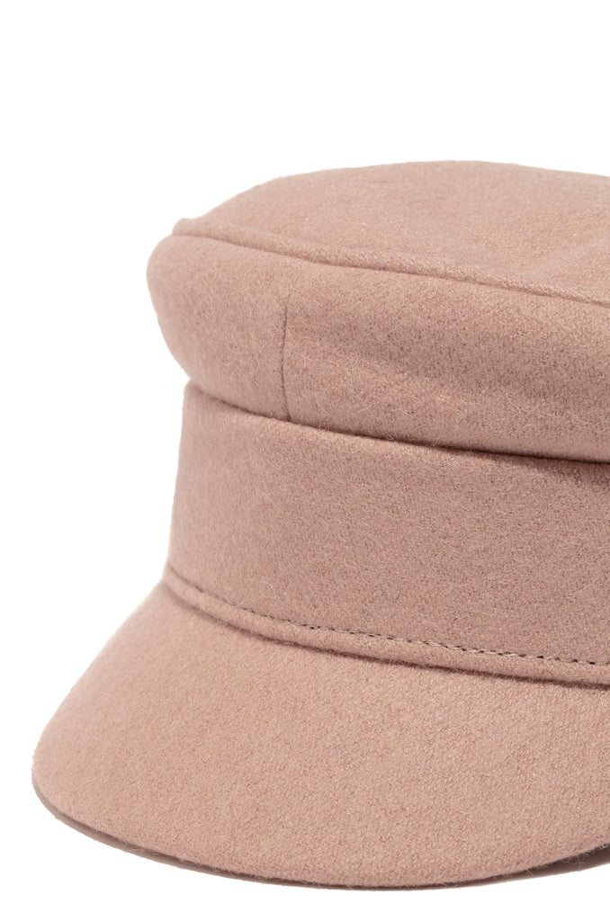 Linden Fiddler Hat - Blush