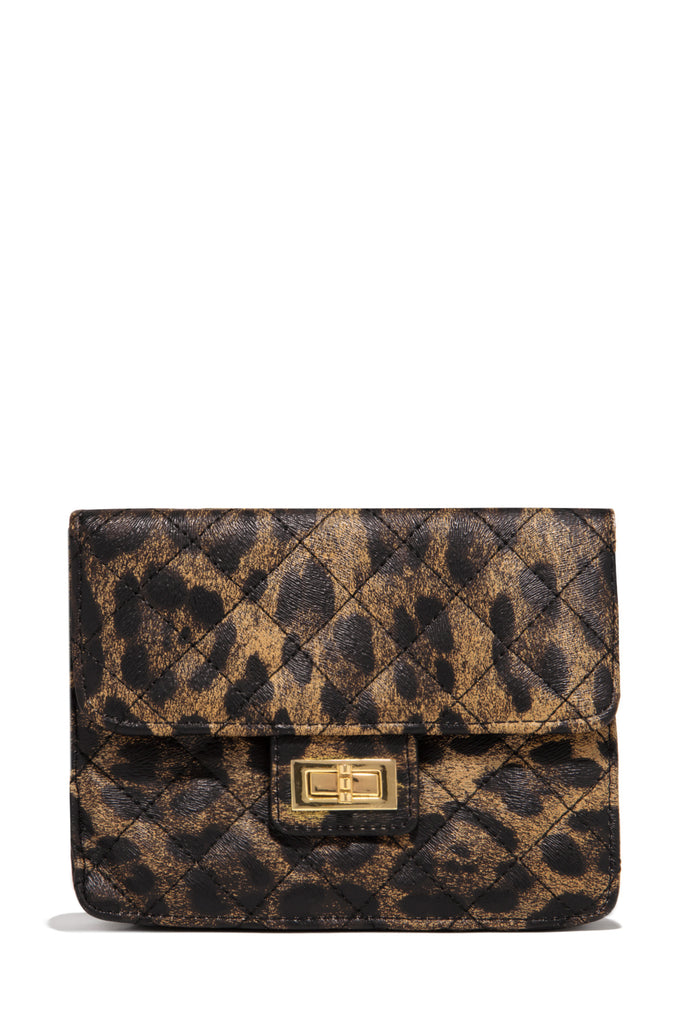 Making Moves Belt Bag - Leopard