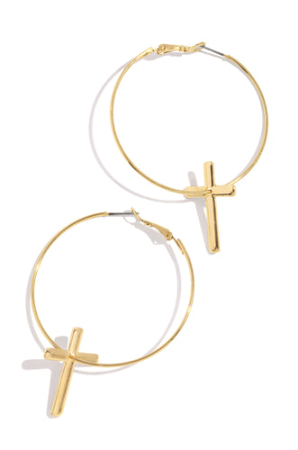 Divine Potential Earring - Gold