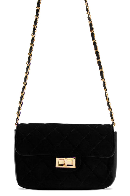 Meet Me At The Soiree Bag - Black