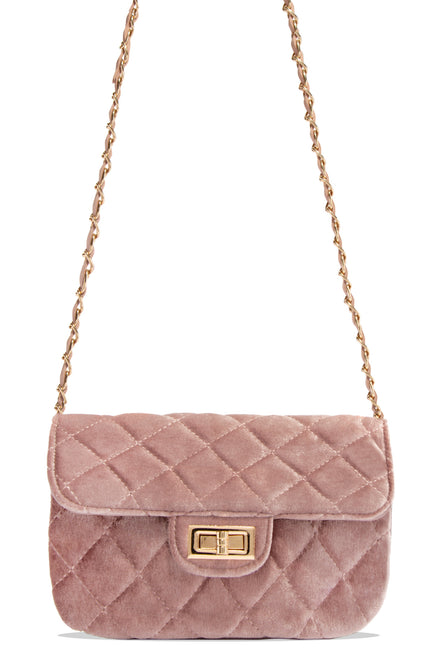 Meet Me At The Soiree Bag - Mauve