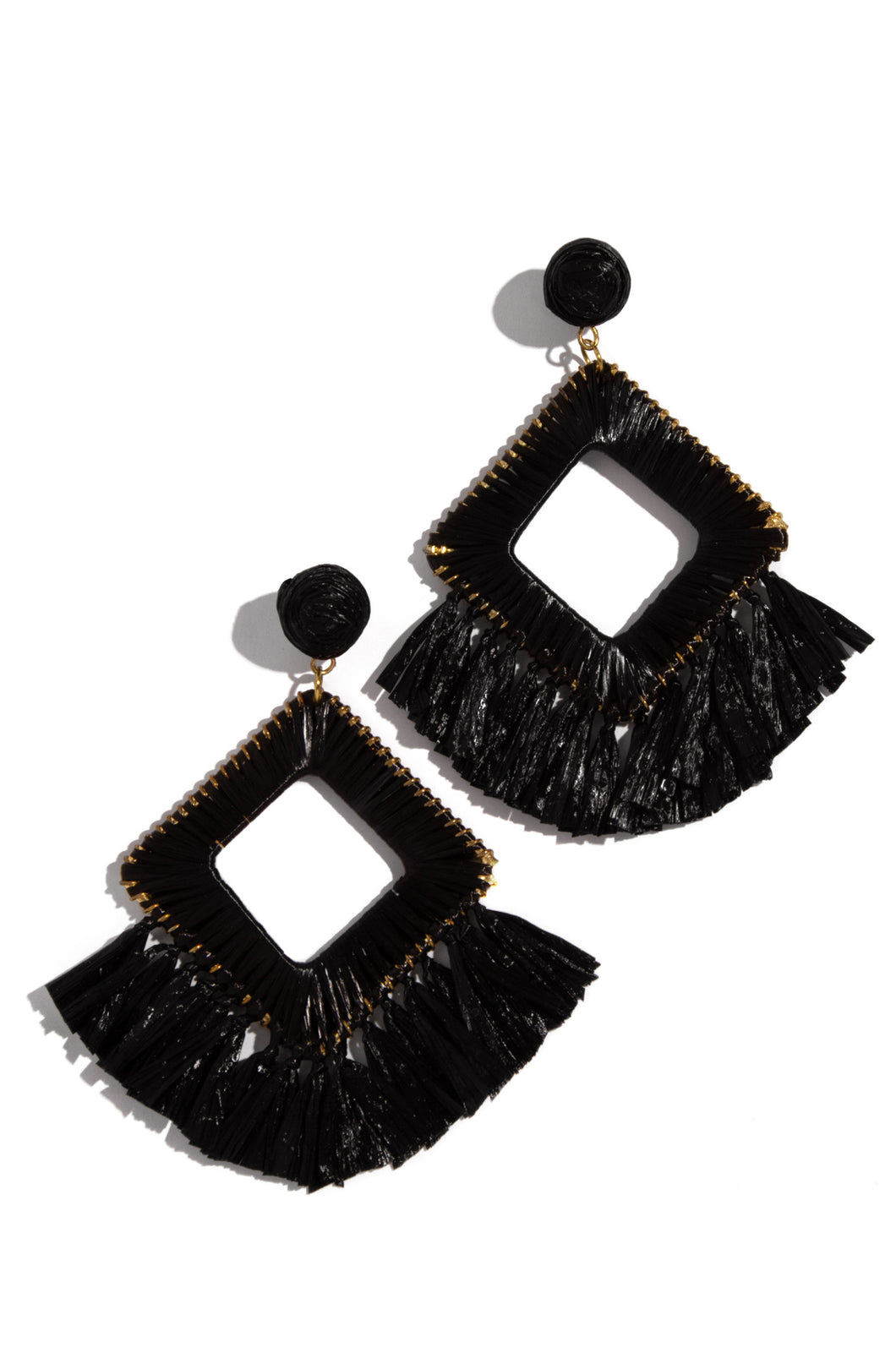 Private Island Earring - Black