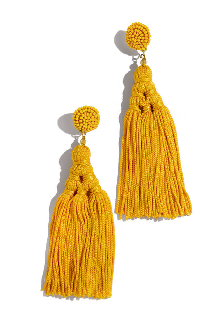 Beach Babe Earring - Yellow