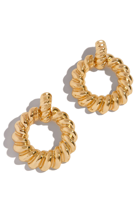 Date Night Earring - Gold