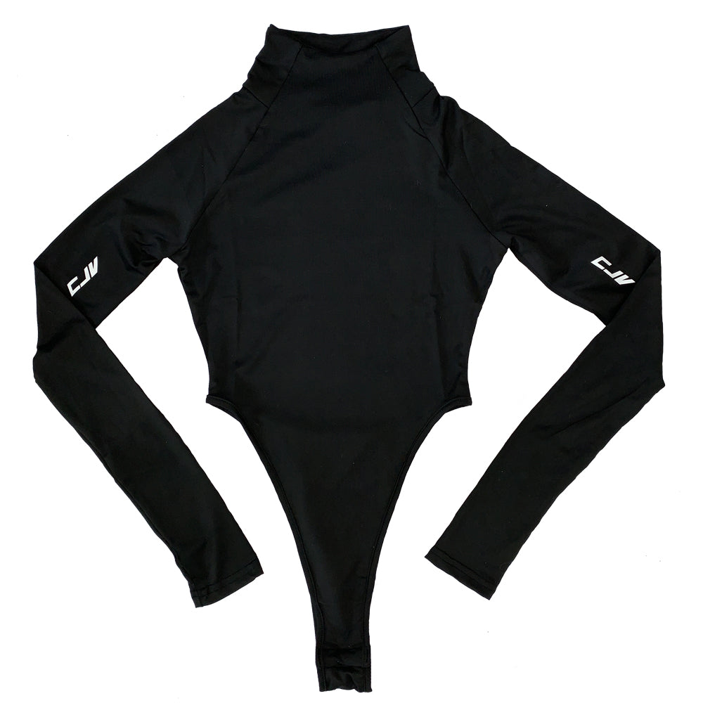 Logo Bodysuit - Black