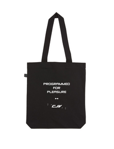 Programmed for Pleasure Tote Bag - Black - Comme Je Veux