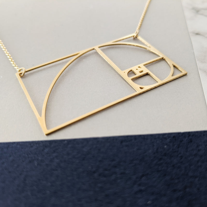 Fibonacci necklace by pieceofka
