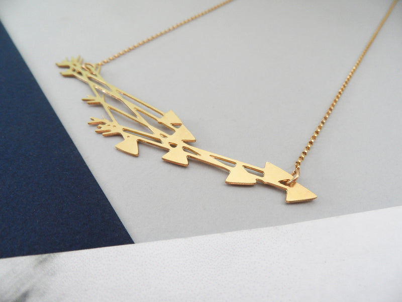 Arrows Necklace