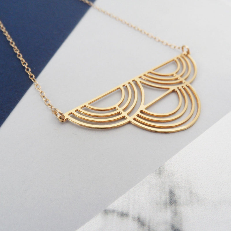 Half Circles Necklace