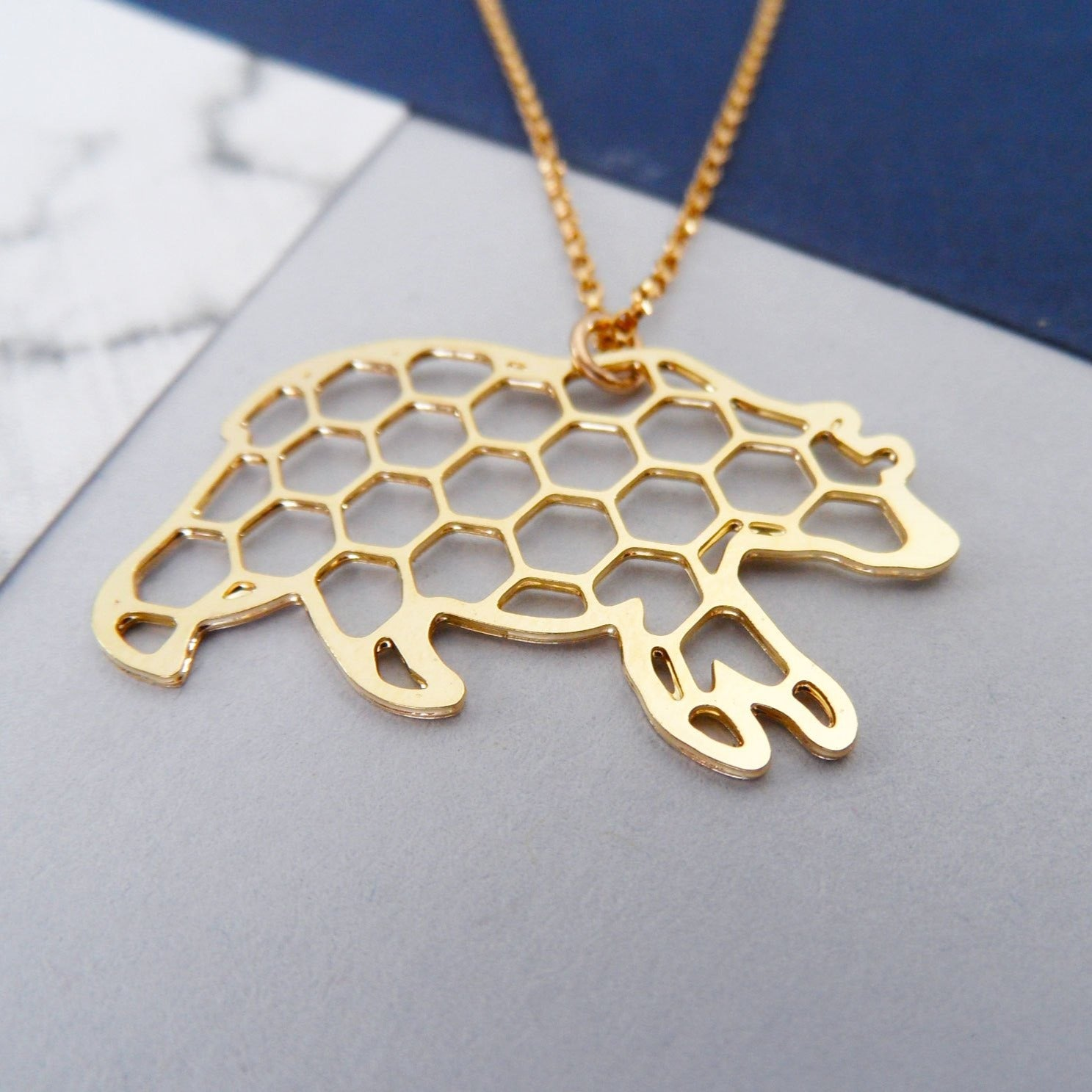 Honey Bear Necklace