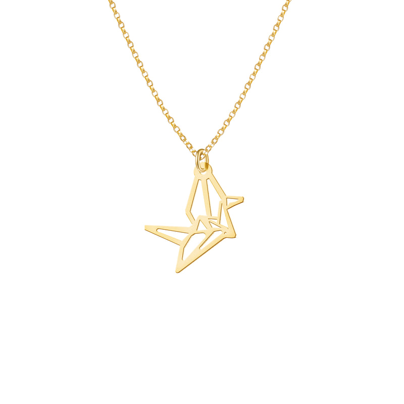 Mini Lucky Crane Necklace