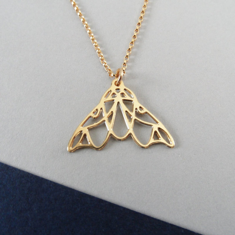 Mini Moth Necklace