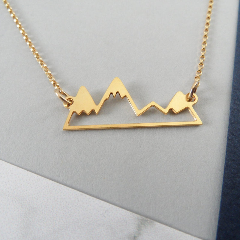 Little Mountain Range Necklace