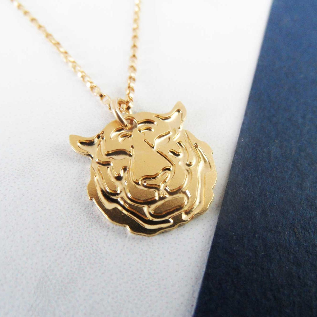 Mini Tiger Necklace