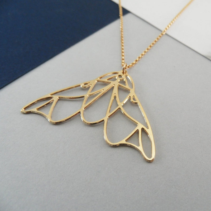 Moth Necklace