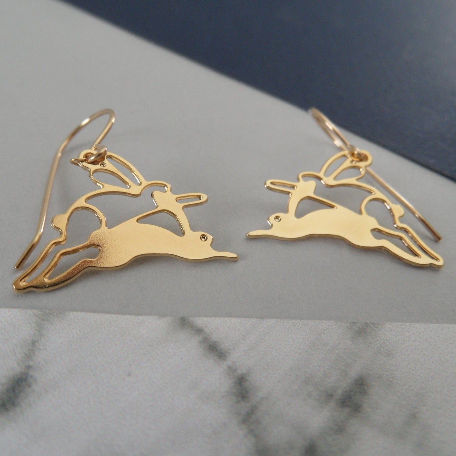 Running Rabbit Earrings